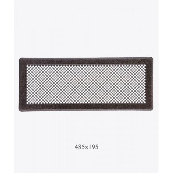 Вентиляційна решітка Darco Р5, 195х485 мм, мідь