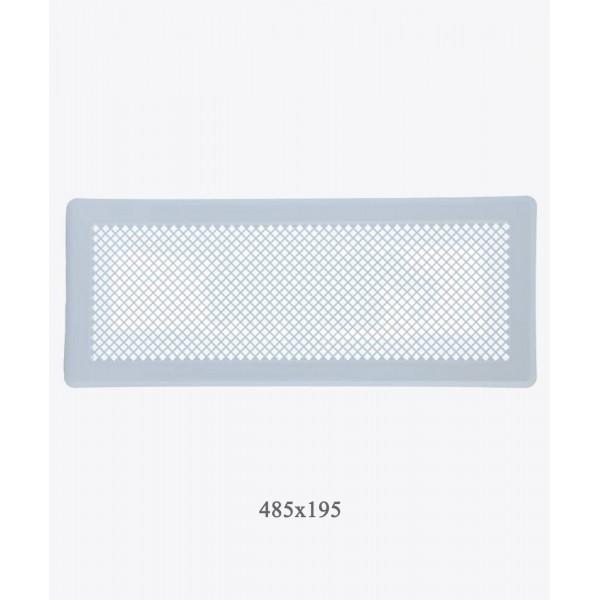 Вентиляційна решітка Darco Р5, 195х485 мм, біла