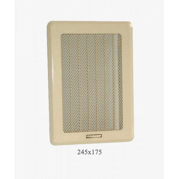 Вентиляційна решітка Darco Рж3 light, 175х245 мм, беж