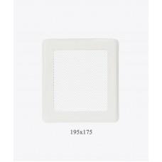 Вентиляційна решітка Darco Р2 light, 175х195 мм, біла
