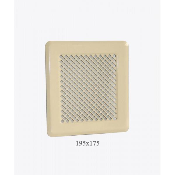 Вентиляційна решітка Darco Р2, 175х195мм, беж