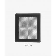 Вентиляційна решітка Darco Light Р2, 175х195мм, графіт