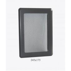 Вентиляційна решітка Darco Р3 light, 175х245 мм, графіт