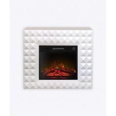Камінокомплект ArtiFlame DIAMOND AF23, білий б'янко