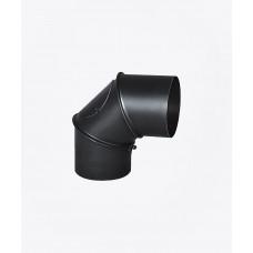 Коліно сталеве регульоване з ревізією, 90°