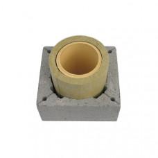 Одноканальний керамічний димохід Schiedel Rondo Plus, 1м (без вентиляції)