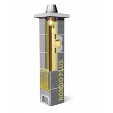 Основа одноканального керамічного димохода Schiedel Rondo Plus, 3м (без вентиляції)