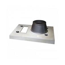 Одноканальний верхній комплект для керамічного димоходу Schiedel APIP (з вентиляцією)