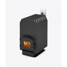 Трубна опалювальна піч Теплодар ТОП 200, 8кВт (чавунна дверка)