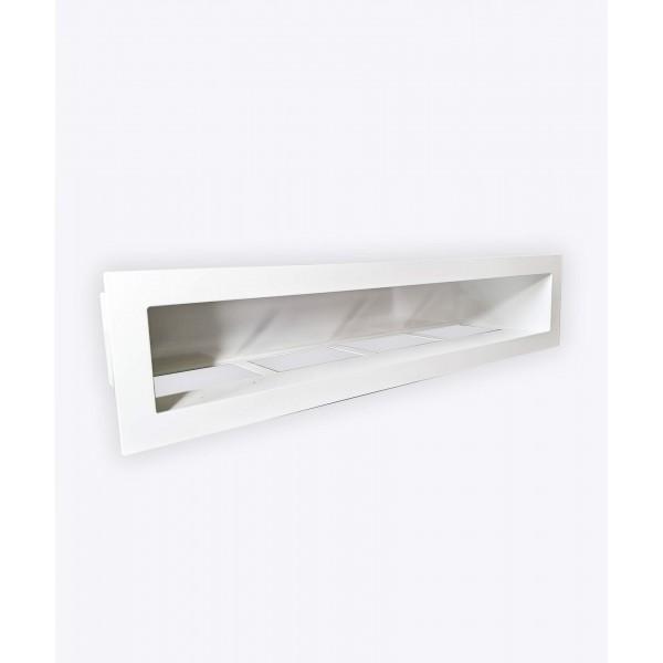 Вентиляційна решітка V-OPEN, 900х70мм, біла